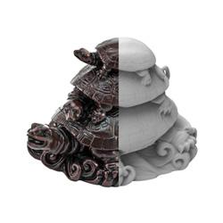 Immagine di un oggetto con forme complesse
