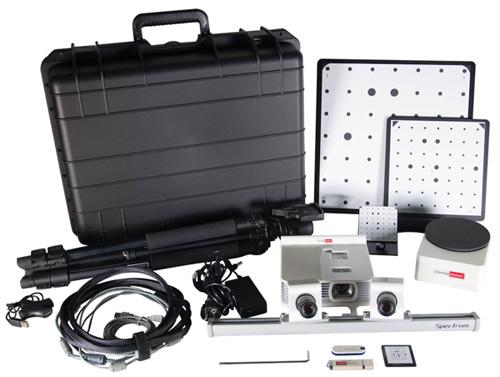 Immagine del kit completo dello scanner3d SPECTRUM RangeVision